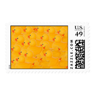 Rubber duckies - one looking the other way stamps