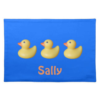 Rubber Duckies Placemats