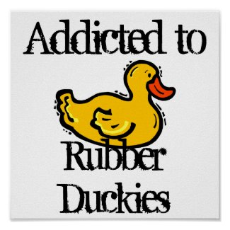 Rubber Duckies print