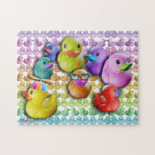 Rubber Duckies Puzzle