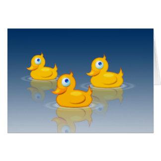 Rubber Ducks 2.0 Card
