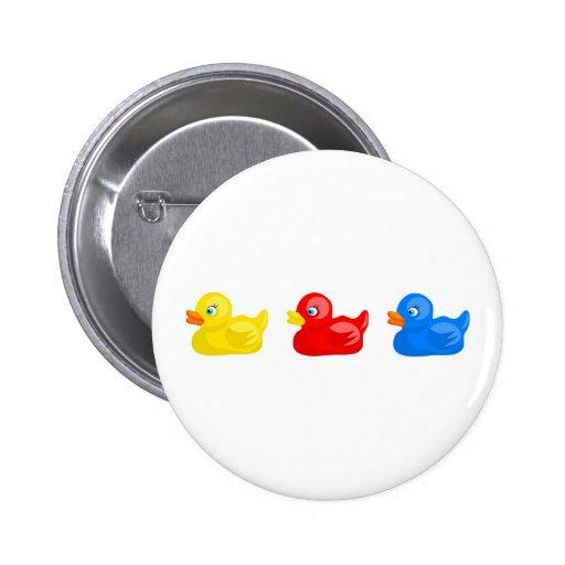 Rubber Ducks 2 Inch Round Button