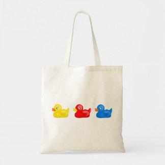 Rubber Ducks Canvas Bag