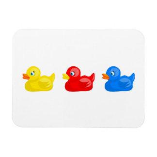 Rubber Ducks Magnet