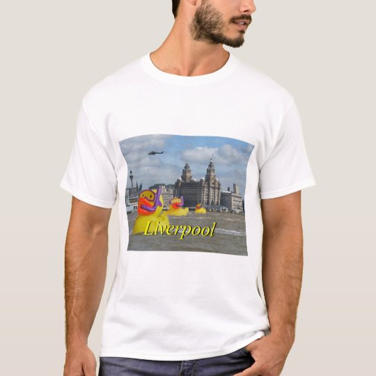 Rubber Ducks On The Mersey T-Shirt