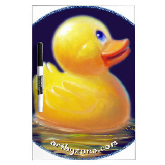 Rubber Duck's Vacation Dry-Erase Board