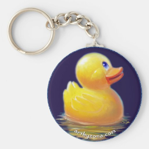 Rubber Duck's Vacation Key Chains