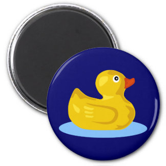 Rubber Ducky 2 Inch Round Magnet