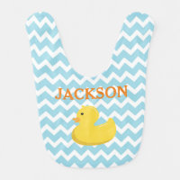 Rubber Ducky Baby Shower Gift Bib