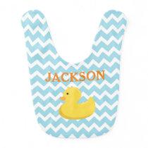 Rubber Ducky Baby Shower Gift Bib