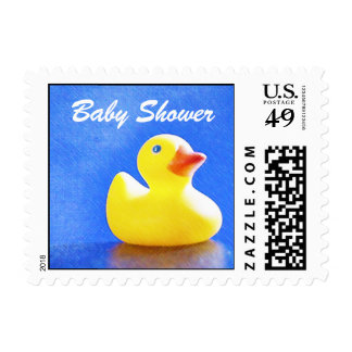 Rubber Ducky Baby Shower Postage
