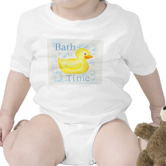 Rubber Ducky Bathtime infant clothing Tees