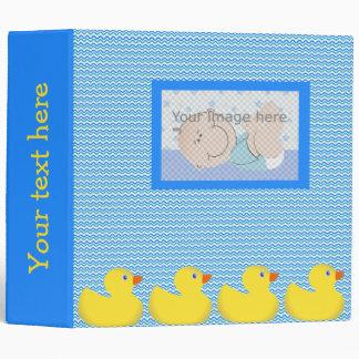 Rubber ducky binder