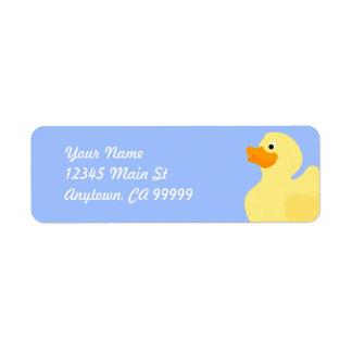 Rubber Ducky Blue Label