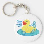 Rubber Ducky Bubble Bath Keychains