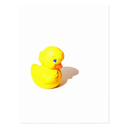 Rubber Ducky - Cute Postcard