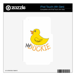 Rubber Ducky Decal For iPod Touch 4G