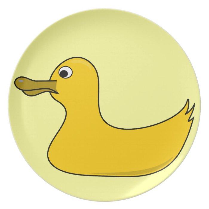 Rubber Ducky Dinner Plate