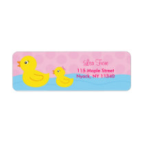 Rubber Ducky Duck Address Labels
