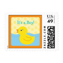 Rubber Ducky Duck Postage Stamps
