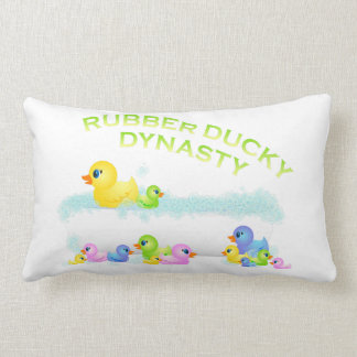 Rubber Ducky Dynasty Pillow