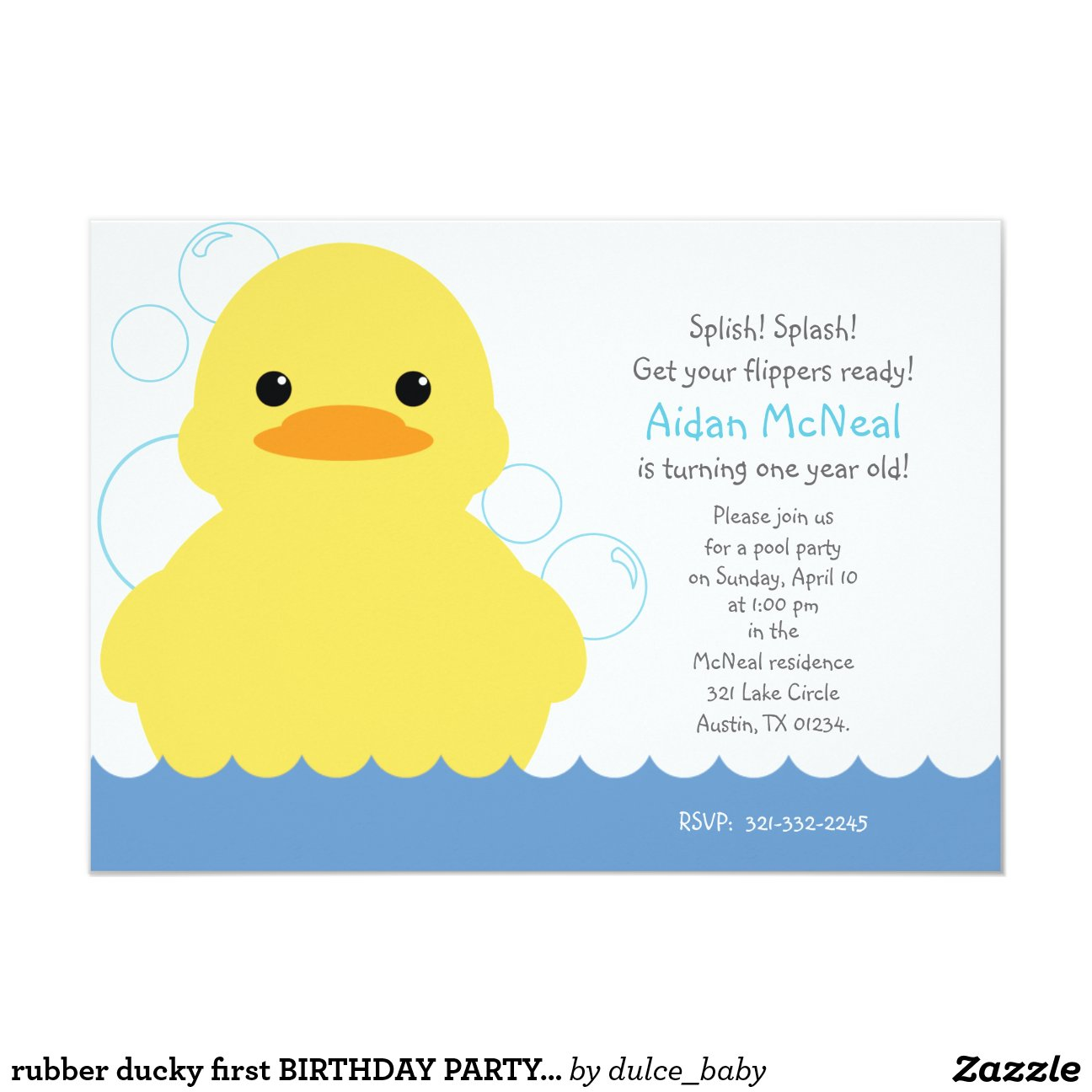 Duck Invitations is perfect invitations template