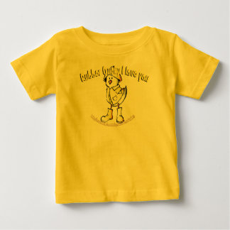 """""""Rubber Ducky I Love You"""" Baby T-Shirt"""