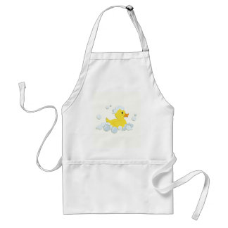 Rubber Ducky in Bubbles Adult Apron