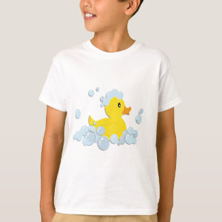 Rubber Ducky in Bubbles T-Shirt