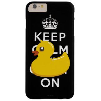 Rubber Ducky Keep Calm and Carry On Barely There iPhone 6 Plus Case