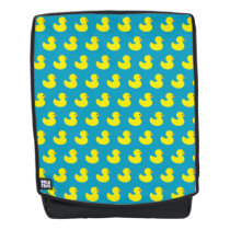 Rubber Ducky Pattern Boldface Backpack