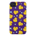 Rubber Ducky Pattern iPhone 4 Case