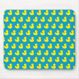 Rubber Ducky Pattern Mouse Pad