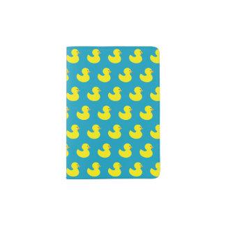 Rubber Ducky Pattern Passport Holder