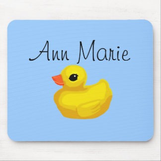 Rubber Ducky Personalized Mousepad