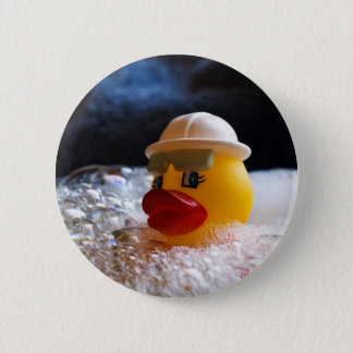 Rubber Ducky Pinback Button