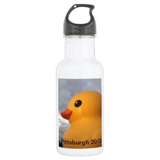 Rubber Ducky Pittsburgh Water Bottle