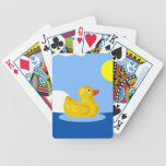 Rubber Ducky Plays Cards Card Deck