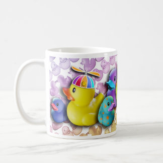 Rubber Ducky Pop Art Mug