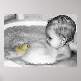 'Rubber Ducky' Print