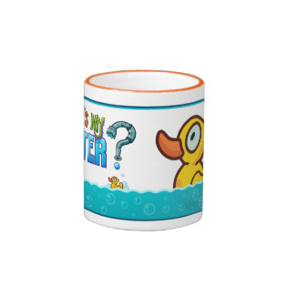 Rubber Ducky Ringer Coffee Mug