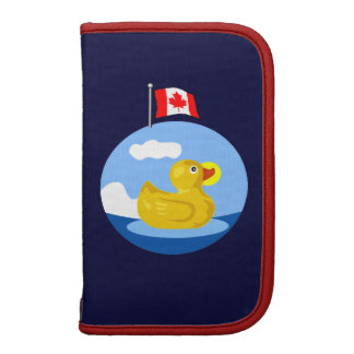 Rubber Ducky Travels to Canada planner