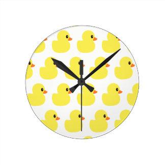 """Rubber Ducky"" Wall Clock"