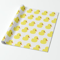 """Rubber Ducky"" Wrapping Paper"