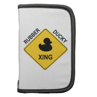 Rubber Ducky Xing Folio Planners