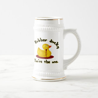 Rubber Ducky - You're The One - Bleeding Duck Beer Stein
