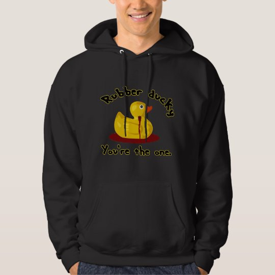 Rubber Ducky - You're The One - Bleeding Duck Hoodie