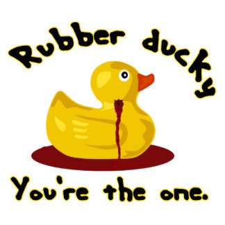 Rubber Ducky - You're The One - Bleeding Duck Statuette