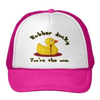Rubber Ducky - You're The One - Bleeding Duck Trucker Hat