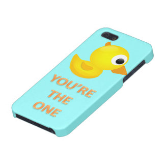 Rubber Ducky You're The One! Iphone 5 Case